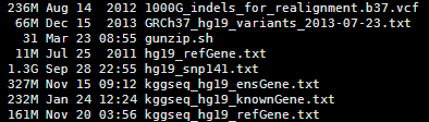 与hg19的突变相关的一些数据解释210
