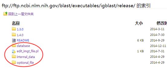 免疫组库igblastn软件的使用302