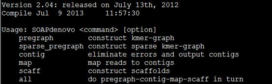 基因组组装软件SOAPdenovo安装使用1035