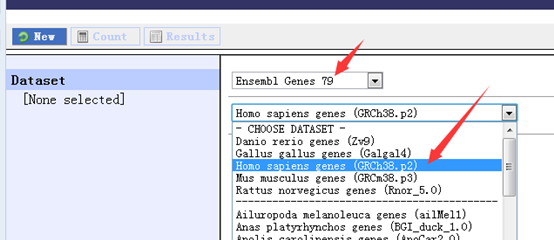 Ensembl数据库在线网页工具biomart简单教程243