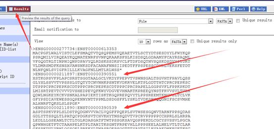 Ensembl数据库在线网页工具biomart简单教程458