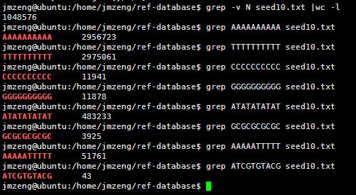 Hg19基因组的分析1407