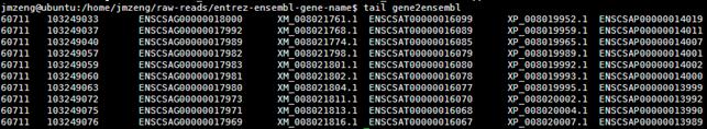 NCBI的基因entrez相关文件介绍859