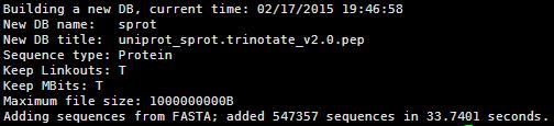 NCBI的blast使用1255