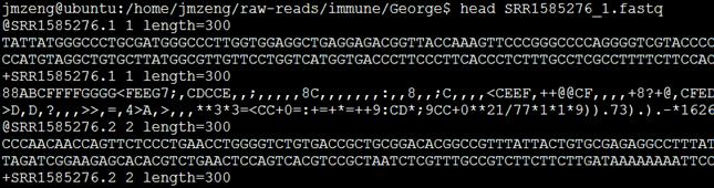 SRA工具sratoolkit把原始测序数据转为fastq格式1479