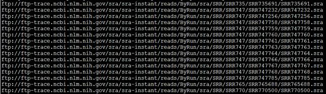SRA工具sratoolkit把原始测序数据转为fastq格式826