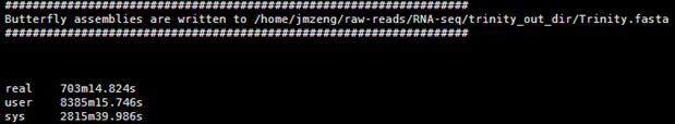 Trinity转录组组装软件说明书2286