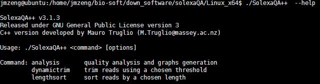 solexaQA 对测序数据进行简单过滤476
