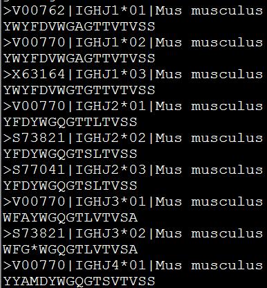 Muscle进行多序列比对215