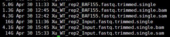 CHIP-seq第三讲之使用MACS软件寻找peaks786