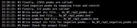 CHIP-seq第三讲之使用MACS软件寻找peaks987