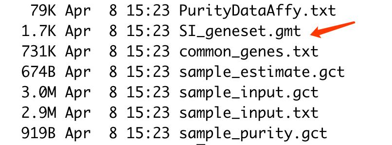 包的示例数据